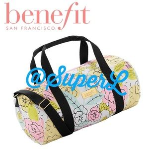 2/$25 Benefit Overnight Travel Gym Duffel Bag
